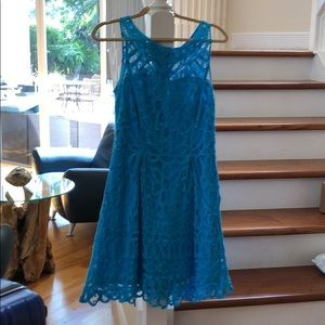 LILY PULITZER turquoise dress